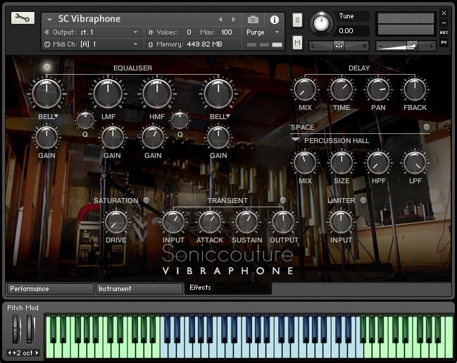 Vibraphone | Virtual Sampled Instrument for Kontakt