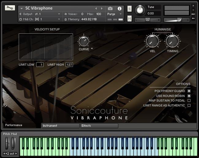 Vibraphone | Virtual Sampled Instrument for Kontakt | Soniccouture