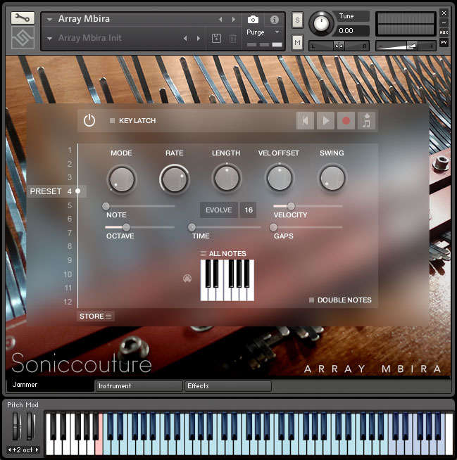 Array Mbira | Virtual Instrument For Kontakt Player