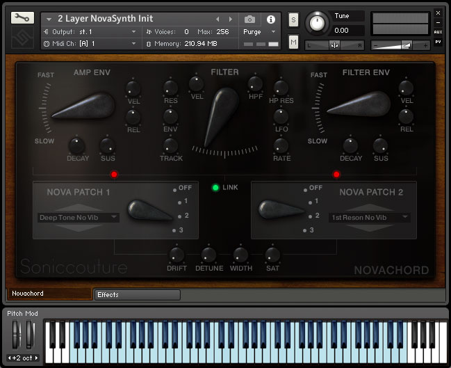 Novachord : Virtual Instrument for Kontakt & Kontakt Player