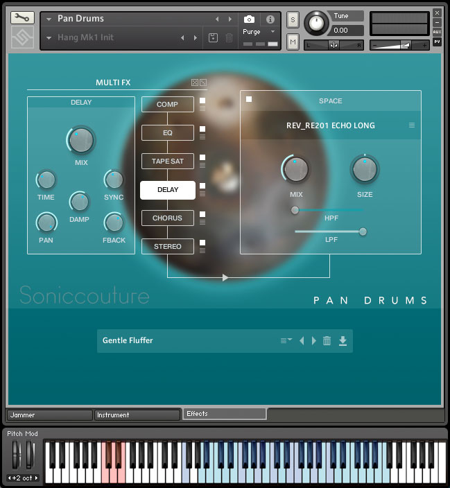 Pan Drums | Hang and Halo Drum virtual instrument for Kontakt Player