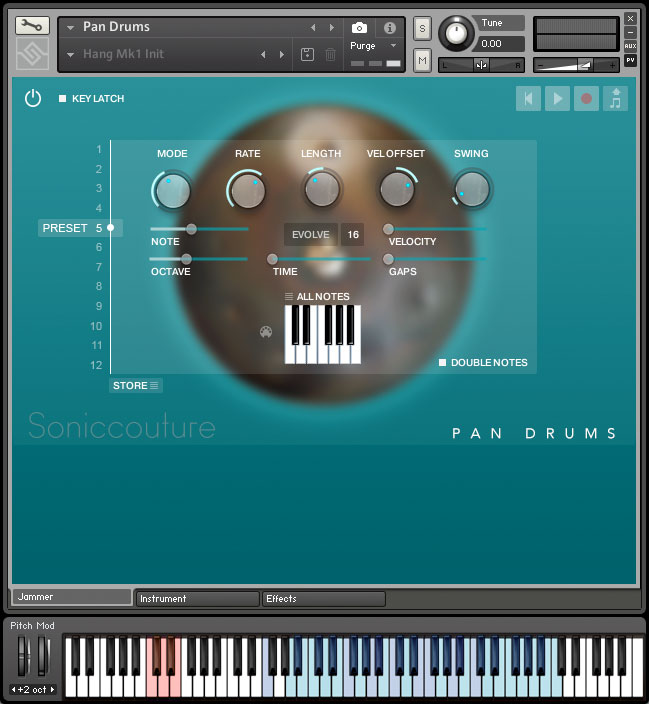 Pan Drums | Hang and Halo Drum virtual instrument for