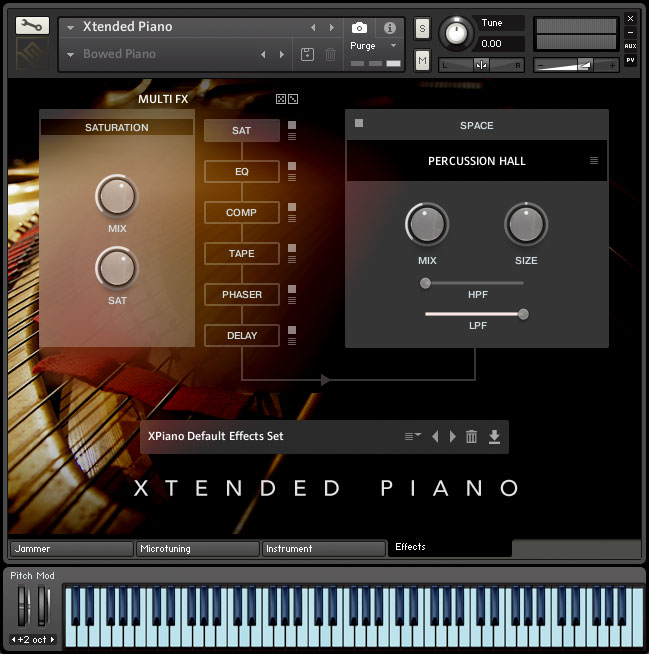 Xtended Piano   Virtual Piano Instrument for Kontakt Player