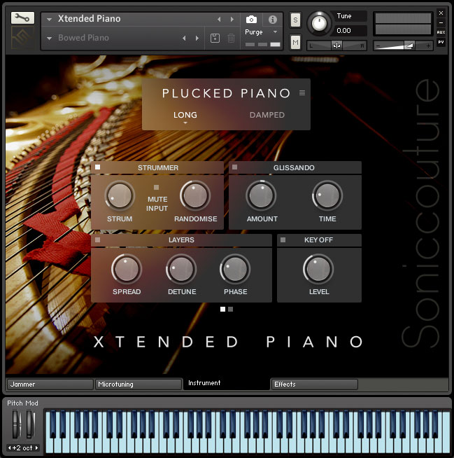 Xtended Piano | Virtual Piano Instrument for Kontakt Player