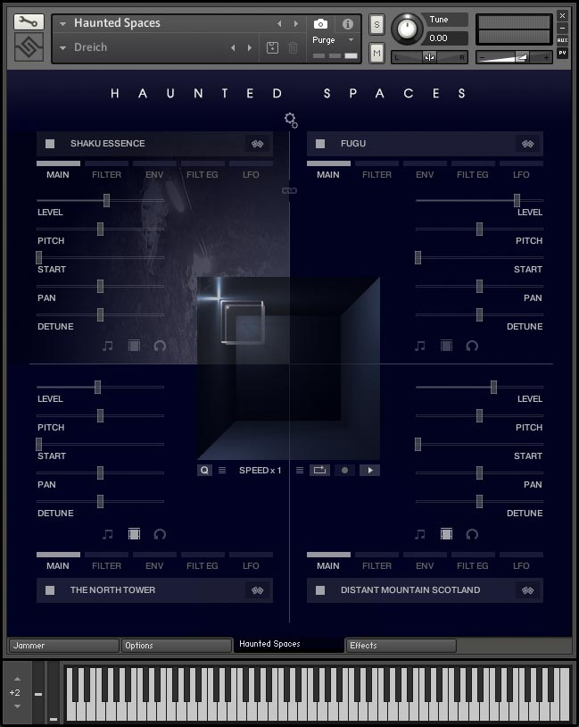 Extra Quality Haunted Spaces V1.2.0 KONTAKT img-20171201115239