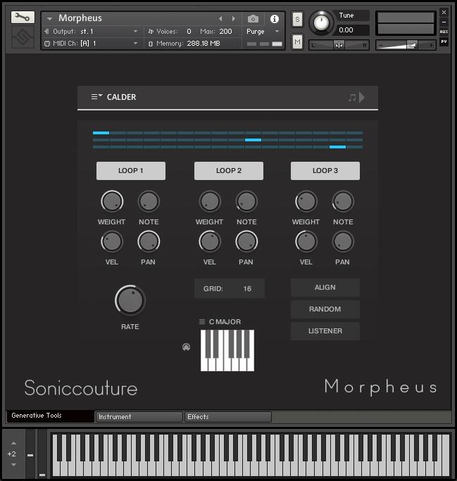 Morpheus | Virtual Instrument For Kontakt NKS | Soniccouture