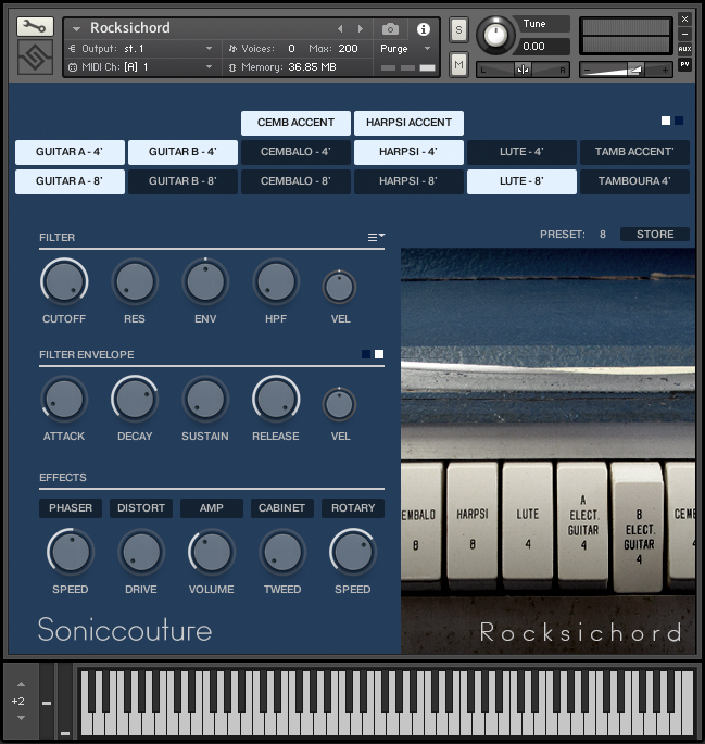 RMI Rocksichord : Free Sample Library for Kontakt, Ableton