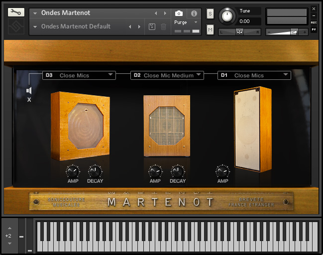 The Ondes Instrument - Speaker Panel